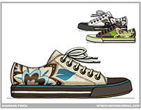 Footwear Design - Fashion Sport & Active