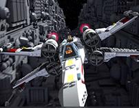 LEGO STAR WARS 3D model & animation