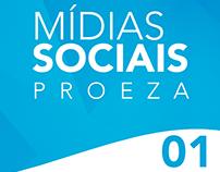 Mídias sociais Proeza