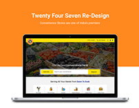 Twenty Four Seven Convenience Store Re-Design