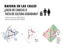 Mapeo de un recorrido habitual- Paisaje urbano 2016-I