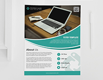 Corporate Office PSD Flyer Template
