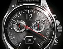 3D Wrist Watch Advertising