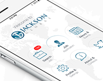 Jackson Global - Mobile App Design