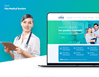 Vias Medical Tourism web site design