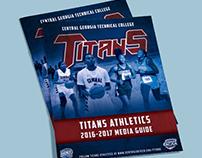 2016-17 Titans Athletics Media Guide (CGTC Athletics)