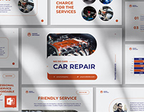 Car Repair PowerPoint Presentation Template