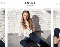 Estilismo página web para Enede