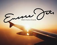 Encore Jets logo design