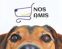 Nos Amis - Pet's Online Shop Branding and UI UX Design
