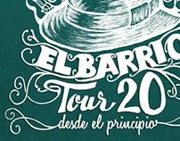 El Barrio, Tour 20 , Desde el Principio.