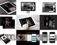 Mobile User Interface | Fashion Brand