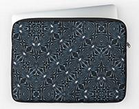 Geometric Pattern Laptop Sleeve Print