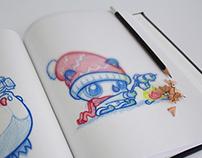 Blue pencil sketches - vol. 2 - Daily Doodles