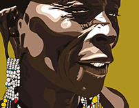 Portraits/Maasai woman