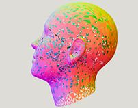 Face Melt - 3D model morphing studies