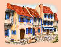 Idealised French Square from Imagination