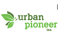 Logo redesign proposal for Urban Pioneer Tea