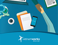 Vietnamworks - Mobile Application Concept
