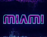 Miami   Kinetic Typography