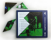 Tangram Puzzle Invitation 'Shaping Science, UGent