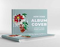 Free Album Cover Mockup