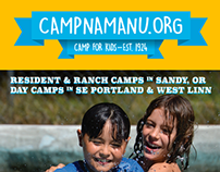 Camp Fire Columbia Namanu 2015 Ad Campaign