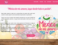 Website Mexico de mis amores