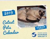 2019 Cutest Pets Calendar