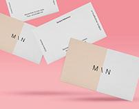 Floating Business Cards Mockup (Free)