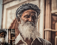 Photo to Watercolor Painting Effect