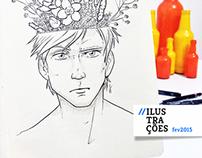 365 dias de Ilustração • Fevereiro