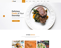 15 Food II Restaurant Web Template