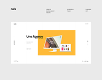 Naix Digital Agency Website