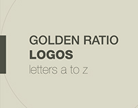 Golden Ratio Logos ( a to z )