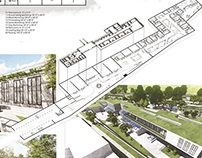 Architecture Thesis (Art Hub as a Public Space)