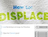 Photoshop Protip: Displacement Map
