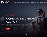 DMX Website Design