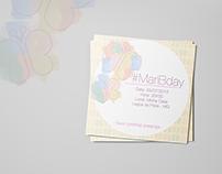 Convite de Aniversário - Tema Borboletas
