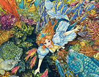 -Picture books- The Princess of the CoralForest