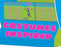 Costumes Inspired Mockup