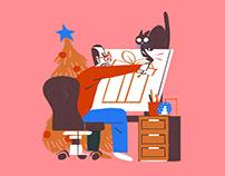 ILIT Christmas GIF Campaign
