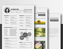Free Complete Resume Template in Multiple File Format