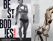 SELF magazine / Best Bodies Package / 2015