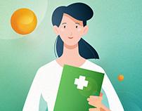 Sberbank Insurance animation movie