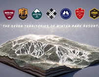 The 7 Territories of Winter Park Resort