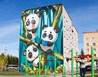 Big Cute Pandas