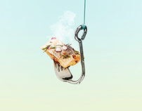 Hook fork • Tenedor Hook