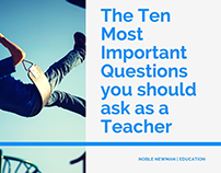 10 Questions Every Teacher Should Answer