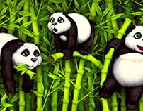 Panda Illustrations